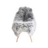 Gotlandsk lammeskind med lang pels