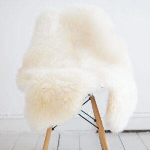 White lambskin