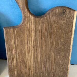 Luxury serving board in smoked oak